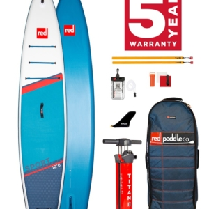 Red Paddle Co Sport 12.6, MSL, RSS, TITAN 2
