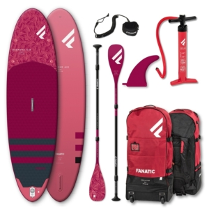 Fanatic SUP Package Diamond Air C35 inkl. Paddle und Leash (2021)