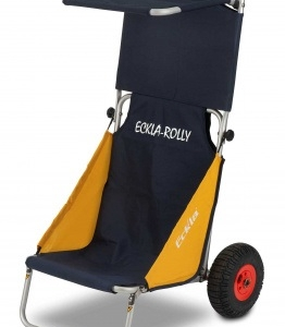 Eckla Beach-Rolly mit Sonnendach